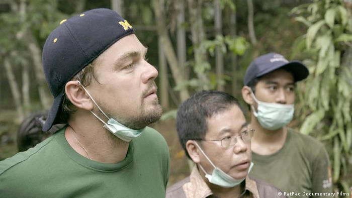 Leonardo DiCaprio in Before the Flood (RatPac Documentary Films)