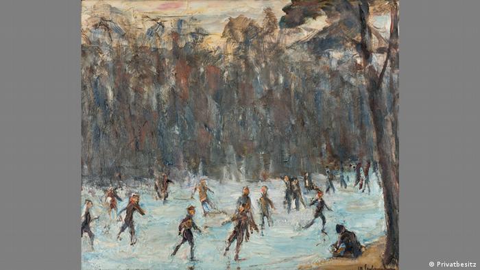 Катающиеся на коньках в Тиргартене (1923)