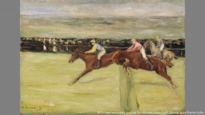 Скачки на лошадях (1909)