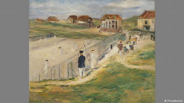 Теннисный корт в Нордвейке, 1911