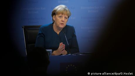 Angela Merkel (picture-alliance/dpa/O.Hoslet )
