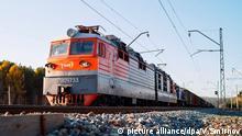 Sibirien Zug Irkutsk
