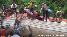 21.10.2016+++Eseka, KamerunA derailed train is seen in Eseka, Cameroon, October 21, 2016. REUTERS/Mahamat Mazou Aboubakar FOR EDITORIAL USE ONLY. NO RESALES. NO ARCHIVES.
