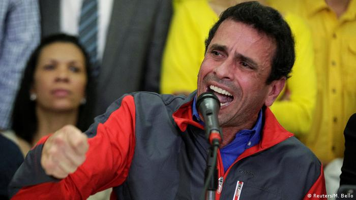 Venezuela | Oppositionsführer Henrique Capriles