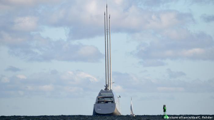 Deutschland Sailing Yacht A (picture-alliance/dpa/C. Rehder)