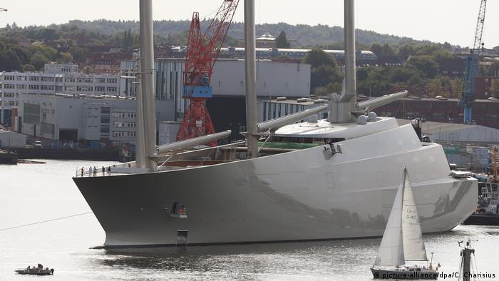 Deutschland Sailing Yacht A (picture-alliance/dpa/C. Charisius)