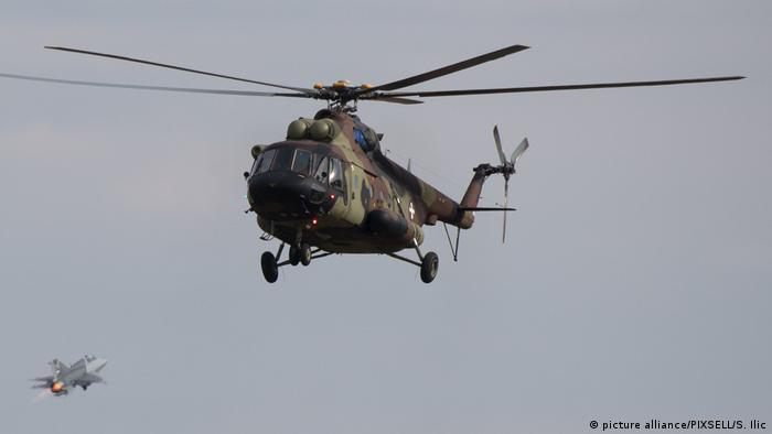 Russland Serbien Helikobert (picture alliance/PIXSELL/S. Ilic)