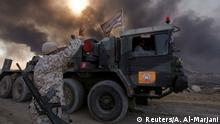 Nach den Worten von Iraks Premierminister Haidar al-Abadi kommt der Vormarsch auf Mossul gut voran