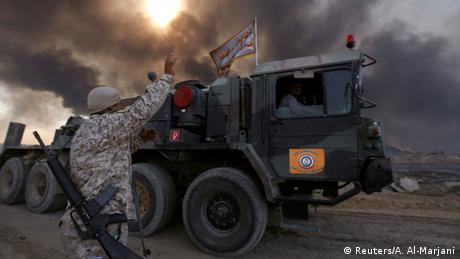 Irak Kämpfe um Mosul (Reuters/A. Al-Marjani)