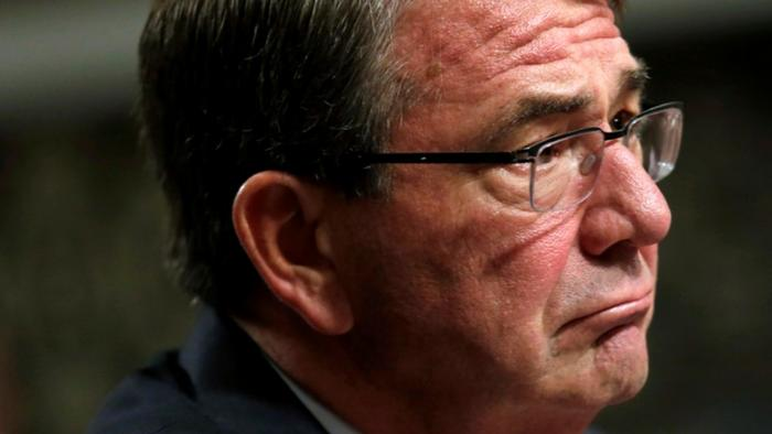 U.S. Defense Secretary Ash Carter REUTERS/Yuri Gripas