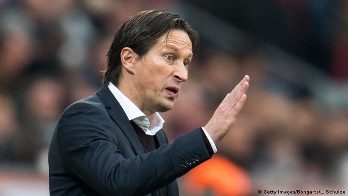 Bayer 04 Leverkusen v TSG 1899 Hoffenheim - Bundesliga Trainer Roger Schmidt