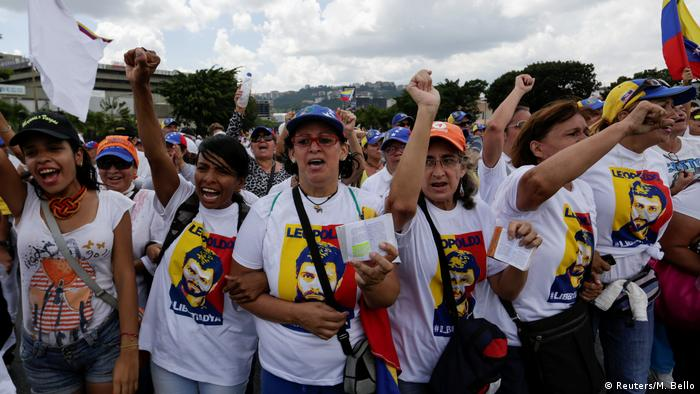 Venezuela Demonstration gegen Regierung Maduro (Reuters/M. Bello)