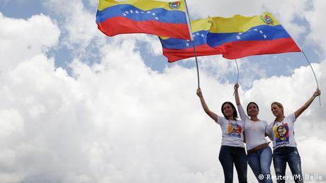 Venezuela Demonstration gegen Regierung Maduro (Reuters/M. Bello)