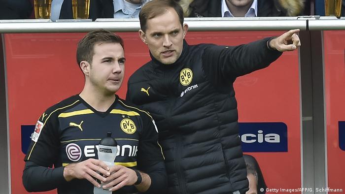 Fußball Bundesliga 8. Spieltag, FC Ingolstadt 04 - Borussia Dortmund Tuchel und Götze