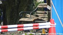 Japan Utsunomiya Explosionen in Park