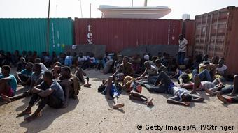 Libyen Tripoli Gerettete Migranten (Getty Images/AFP/Stringer)