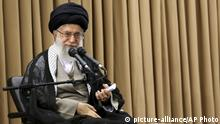 In this picture released by an official website of office of the Iranian supreme leader, Supreme Leader Ayatollah Ali Khamenei speaks in a meeting with Iranian officials in Tehran, Iran, on Tuesday, June 14, 2016. Iran's top leader says that if the next U.S. president tears up the nuclear deal, Iran will light it on fire. Supreme Leader Ayatollah Ali Khamenei's remarks on Tuesday appeared to be aimed at presumptive Republican nominee Donald Trump, who has criticized the deal and vowed to renegotiate it. Khamenei referred to a U.S. presidential candidate threatening to tear the deal up. The landmark nuclear agreement reached nearly a year ago granted Iran billions of dollars in sanctions relief in exchange for curbing its uranium enrichment program. (Office of the Iranian Supreme Leader via AP) |