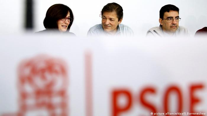PSOE Treffen Madrid Spanien (picture alliance/dpa/S.Barrenechea)