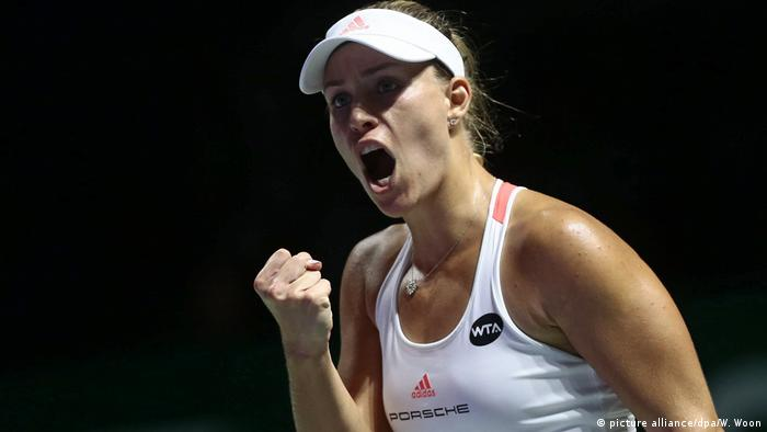 Singapur Angelique Kerber (picture alliance/dpa/W. Woon)