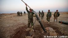Irak kurdische Kämpfer um Mossul