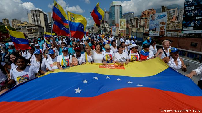Venezuela Demonstration gegen Regierung Maduro (Getty Images/AFP/F. Parra)