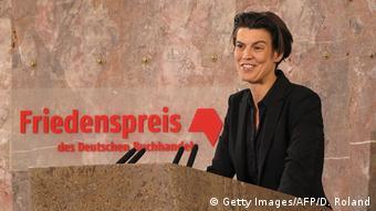 Frankfurt am Main Carolin Emcke Friedenspreis des Deutschen Buchhandels