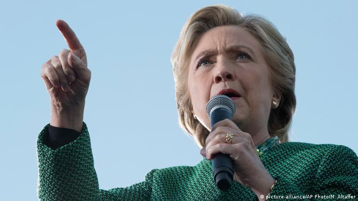 USA North Carolina Raleigh Wahlkampf Präsidentenwahl Hillary Clinton