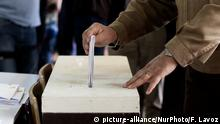Chile ballot box (picture-alliance/NurPhoto/F. Lavoz)