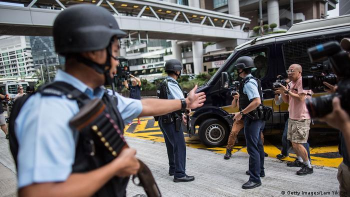 Hong Kong British Banker Rurik Jutting Charged With Two Counts Of Murder (Getty Images/Lam Yik Fei)