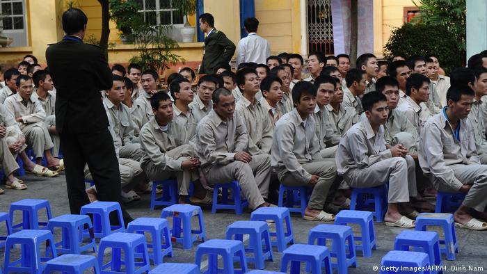 Vietnam Drogenabhängige Insassen (Getty Images/AFP/H. Dinh Nam)