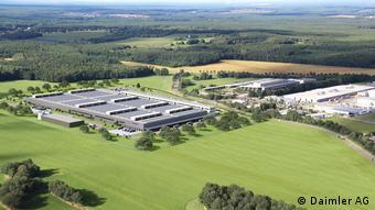 Два завода Daimler по производству аккумуляторных батарей в Каменце близ Дрездена