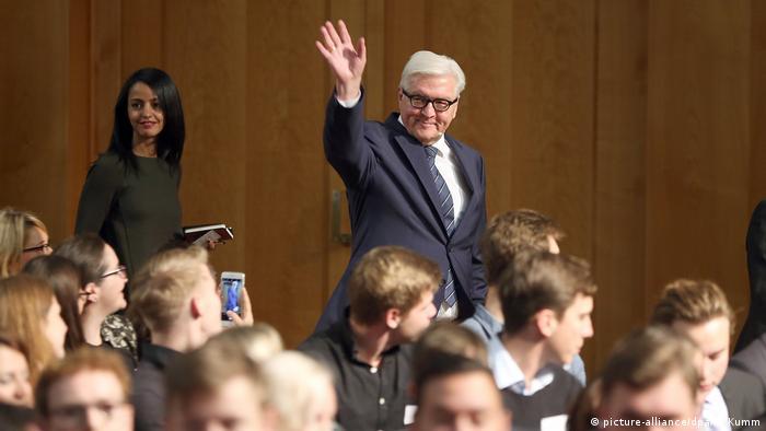 Frank-Walter Steinmeier (picture-alliance/dpa/W. Kumm)