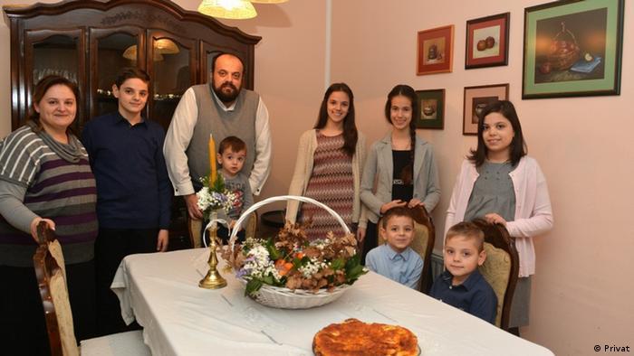 Serbien Priester Radivoje Krulj Mostar (Privat)