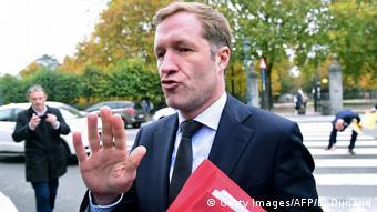 Belgien Paul Magnette Wallonie Ministerpräsidnet CETA Ablehnung (Getty Images/AFP/E. Dunand)