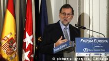 Mariano Rajoy Madrid Spanien (picture alliance/dpa/J.C.Hidalgo)