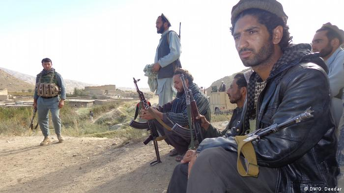 Afghanistan Truppen in Nengarhar näch Kämpfen mit dem IS