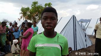 Mosambik Flüchtling in Vanduzi