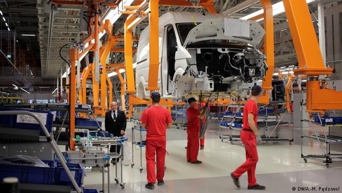 Fabryka VW Crafter we Wrześni