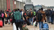 Calais Räumung Lager Dschungel
