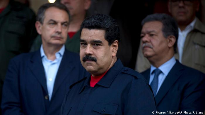 Venezuela Präsident Nicolas Maduro (Pictrue-Alliance/AP Photo/F. Llano)