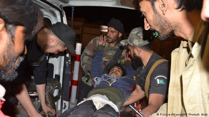 Pakistan Angriff auf eine Polizei-Schule (Picture-Alliance/AP Photo/A. Butt)