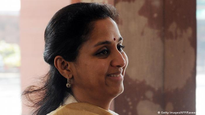 Supriya Sule (Getty Images/AFP/Raveendran)