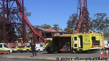 Australien Dreamworld Themenpark Unfall (picture-alliance/dpa/S.Bailey)