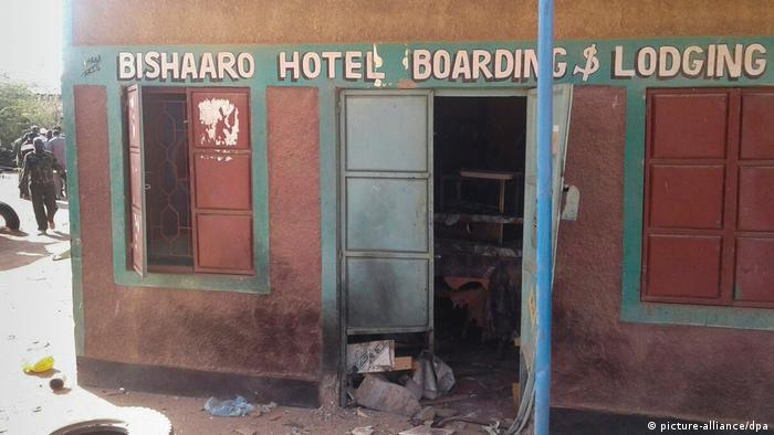 Kenia Bishaaro Hotel Anschlag Al Shabab (picture-alliance/dpa)
