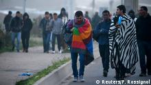 Frankreich Räumung Dschungel von Calais