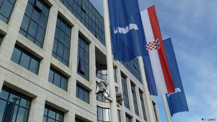 Sitz der kroatischen Ölindustrie INA (I. Lasić)