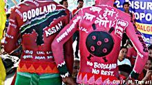 Indien Bodo Ureinwohner verlangen eigene Bundesland