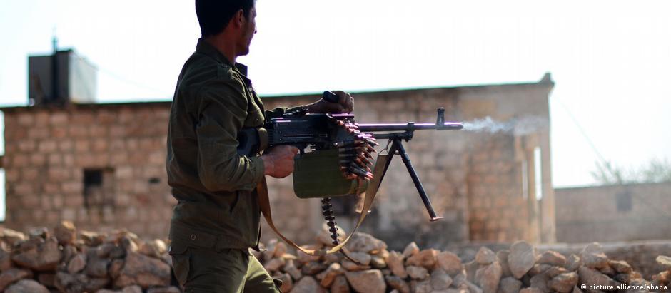 Diversos grupos rebeldes participam da ofensiva