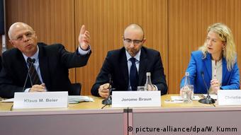 Deutschland Pressekonferenz Kein Täter werden
