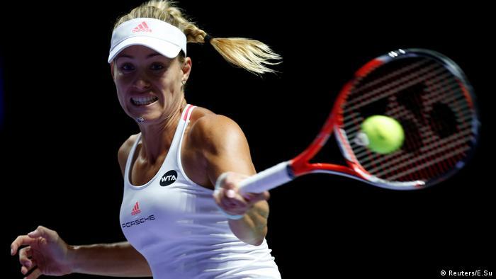 Tennis Singapur Angelique Kerber (Reuters/E.Su)